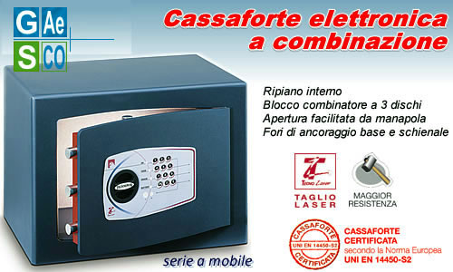 Certified gold technomax safes with cash throw-in device